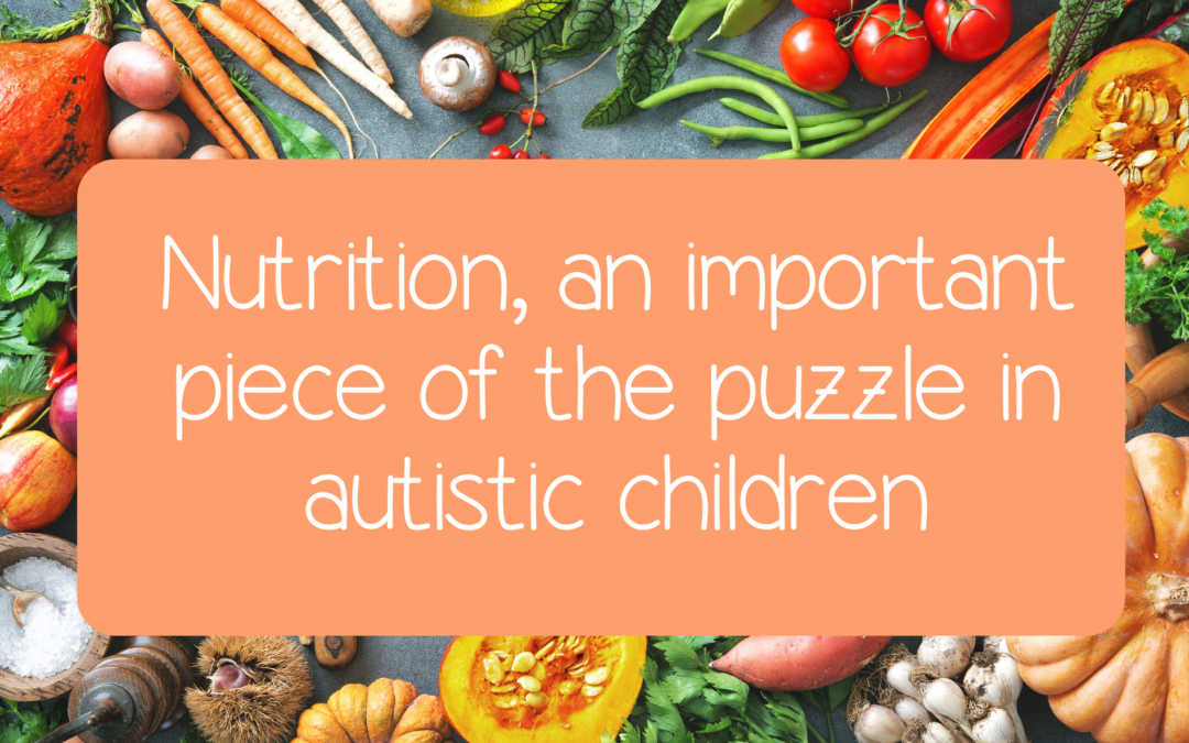 Nutrition, an important piece of the puzzle in autistic children