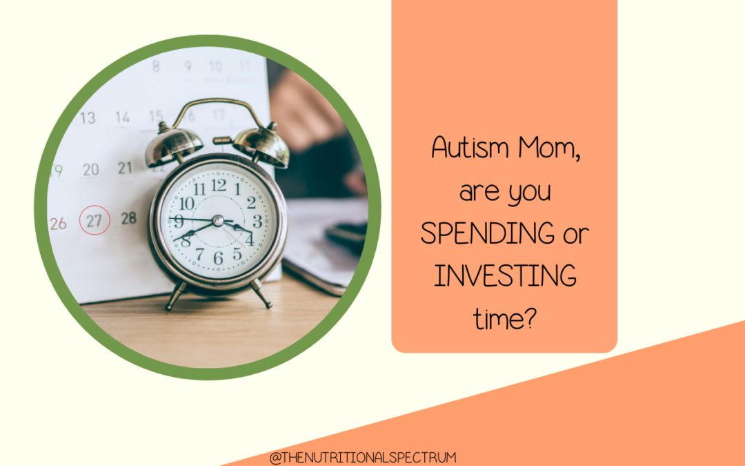 Momma, where are you investing your time?