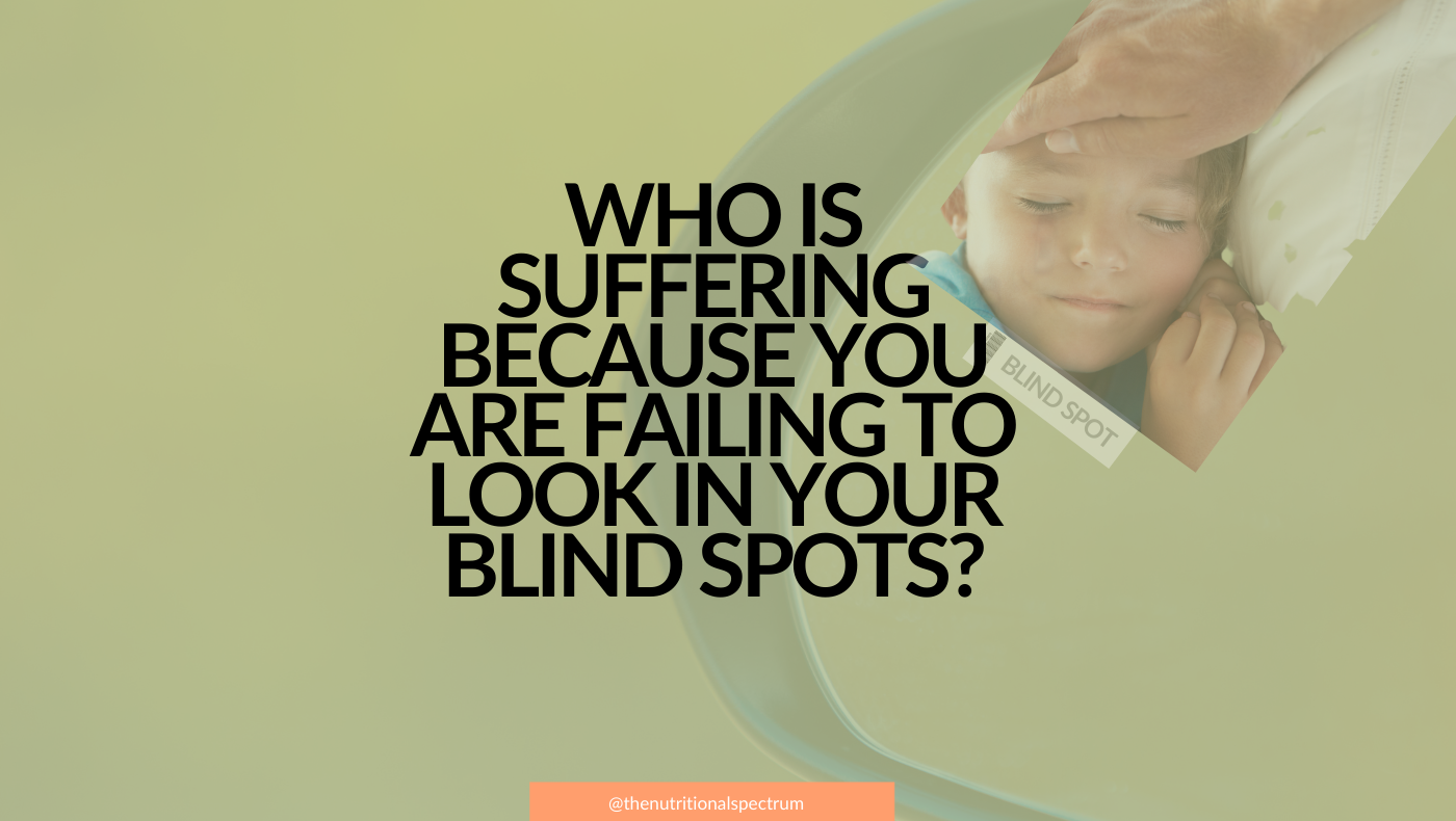 Finding your parenting through blind spots to help your child